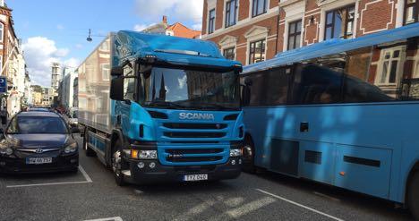 transport fra københavn til holstebro