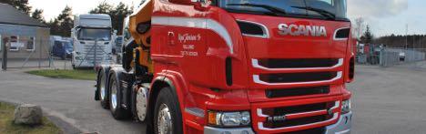 lastbiler med kran