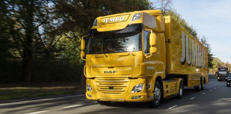 DAF leverer elektrisk lastbil til feltforsøg