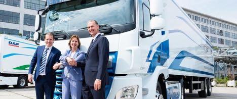 Hollandsk koncern sætter strøm til en DAF
