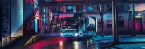 Volvo Trucks sætter strøm til endnu en distributionsbil
