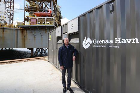 Skibe kan koble sig på landstrøm i Grenaa
