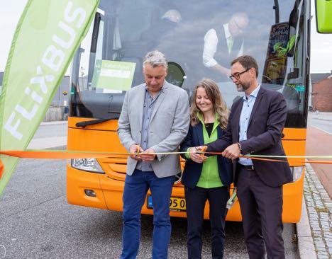 Ny fjernbuslov har åbnet for nye busforbindelser i Danmark