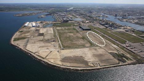 Internationalt logistikfirma vil bygge intermodalt på havnen i Malmö