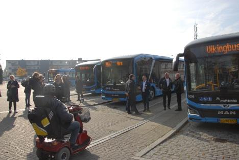 Østjysk by har fået sine el-busser
