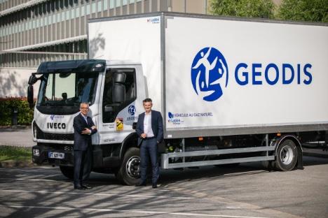 Fransk logistik-koncern bestiller 200 lastbiler med gas-motorer