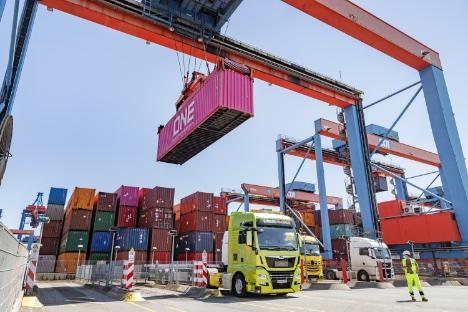 Havneoperatør testede selvkørende lastbil