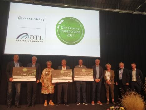 Mejeri-koncern kører fra Herning med Den Grønne Transportpris 2021